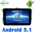 Android 5.1 Car radio 2 din DVD Gps Player universal Navigation For VW/Volkswagen/POLO/PASSAT/Golf/Skoda/Rapid/Seat Wifi FM/AM