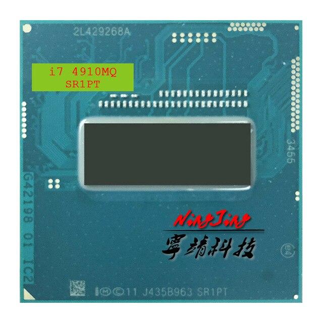 Intel Core i7 4910MQ i7 4910MQ SR1PT 2.9 GHz Quad Core שמונה חוט מעבד מעבד 8M 47W שקע G3/rPGA946B