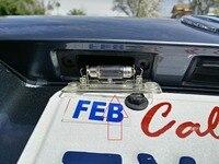 светодиодный номер poser Регистрация номера лампа для Фольксваген Caddy/Golf 5 плюс/Джетта/Туран/Пассат В6 универсальный/ Пассат Б5.5 седан/транспортер Т5