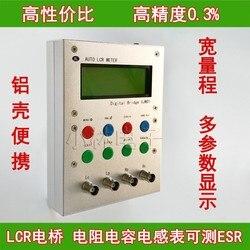 XJW01 цифровой мост 0.3% LCR тестер сопротивления, индуктивности, емкости, ESR, готовой продукции