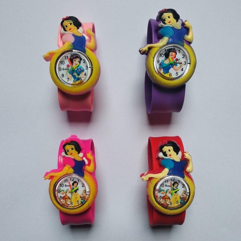 Tape Patted Child Watch Colorful Princess Children Watches Kids Girls Gift Quartz Wristwatches Clock Relogio Relojes Kol Saati