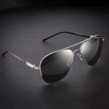 VWKTUUN Classic Polarized Sunglasses Men Spring Leg Alloy Mens Brand Design Pilot Male Sun Glasses Driving