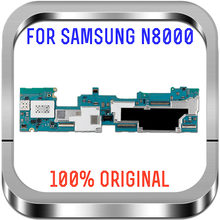 100% Original Motherboard Unlocked For Samsung Galaxy Note 10.1 N8000 3G&WIFI Mainboard Android OS 16GB Logic Board With Chips(China)