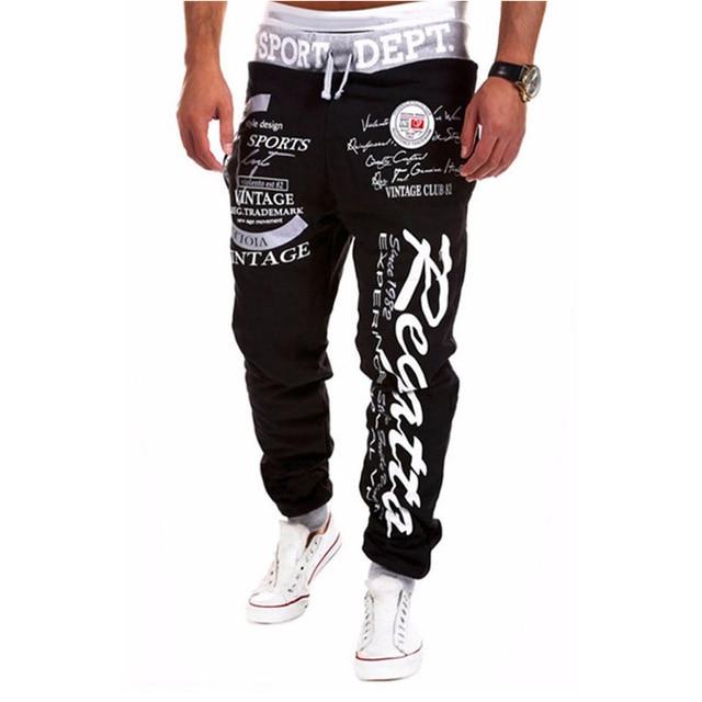 men's pants weatpants joggers Hip Hop cargo pants men casual fashion Teen wolf streetwear pantalones hombre TJWLKJ 3