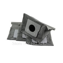 2 pieces/lot Vacuum Cleaner Bags Dust Bag Cloth Filter Bag Replacement for Lg passion,turbo,vc,vcp series etc.!