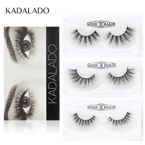 Image 5 - Sexy curly Mink Hair False Eyelashes 3D Natural/Thick Long Eye Lashes Wispy Eye Makeup Tools Faux Eye Lashes