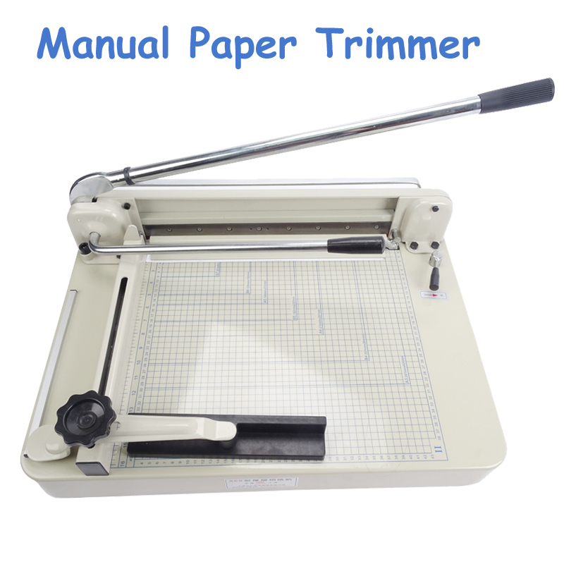 1pc A4 B5 A3 A5 Paper Cutter 17 Heavy Duty Manual Paper Trimmer High Quality Cutting Machine дырокол deli heavy duty e0130