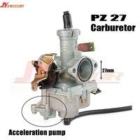 27mm carburetor accelerating pump accelerator for keihin pz 27 125cc 150cc motorcycle dirt bike racing performance carburetor