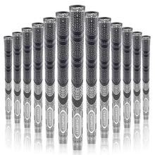 Champkey MCS клюшки для гольфа 10x многосоставные стандартные клюшки для клюшек для гольфа 10 цветов шнуровые резиновые ручки