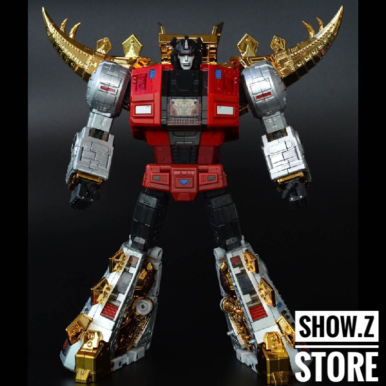 [Show.Z Store] FansToys FT-06X Sever IRON DIBOTS NO.3 G1 Masterpiece Limited Edition MP Transformation Action Figure Instock [show z store] [pre order] fanstoys ft 25 outrider fans toys transformation figure toy