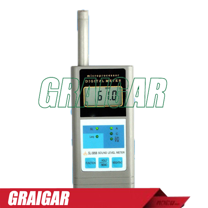 Sound Meter Digital Sound Meter Multifunctional Sound Level Meter SL-5858 цена и фото