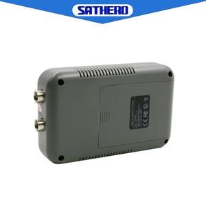 Image 4 - Sathero SH 200HD DVB S2 finder satellite meter portable high quality TV Signal Meter HD satfinder bulit in capacity battery