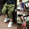 Горячая распродажа мальчиков свободного покроя брюки-карго дети весна осень мода брюки детей брюки 3 цветов для 2-6Year