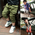 Hot selling Baby Boys Casual Cargo Pants Kids Spring Autumn Fashion Trousers Children pants 3 colors for 2-6Year