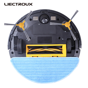 Image 5 - LIECTROUX C30B Robot Vacuum Cleaner 4000Pa Suction 2D Map Navigation Smart Memory WiFi App Electric Water Tank Wet Mopping