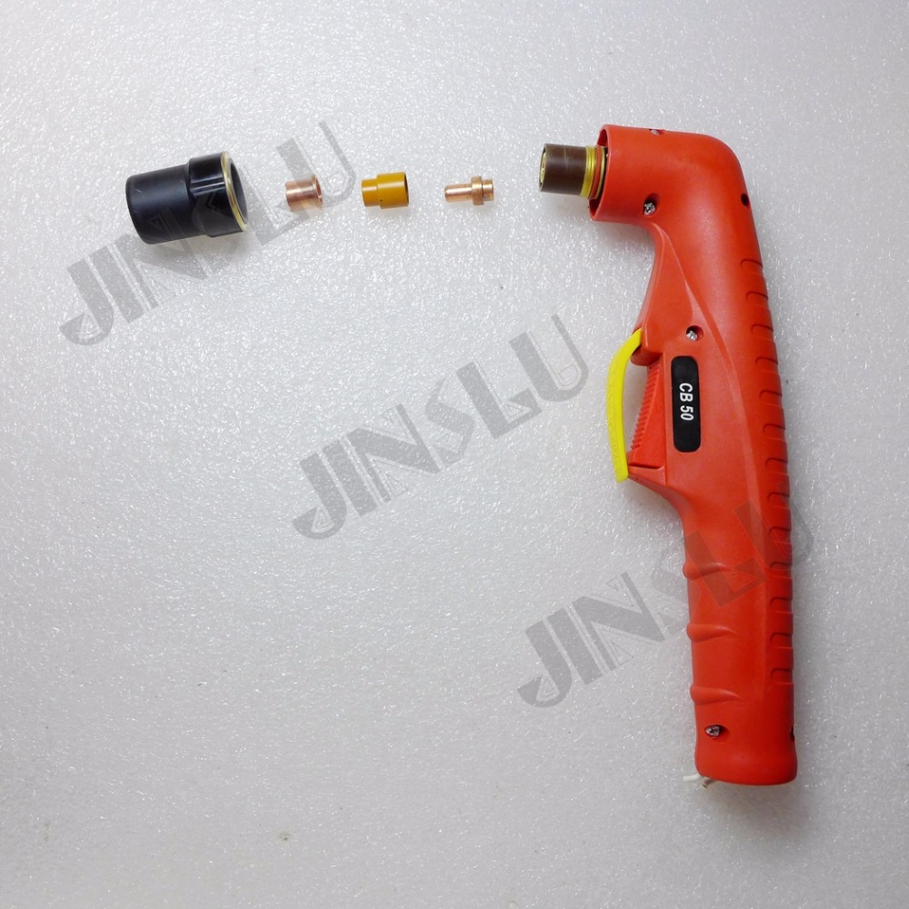Free 1PCS Trafimet CB50 Cutting OEM Handle Torch Shipping CS50 Plasma Red Body