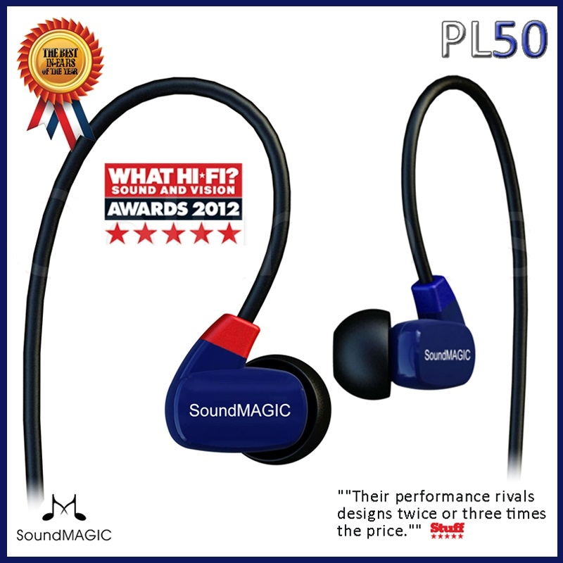 Soundmagic PL50 Balance Armature hifi dans l'oreille écouteurs, bonne qualité sonore chine célèbre tout nouveau original livraison par avion gratuite