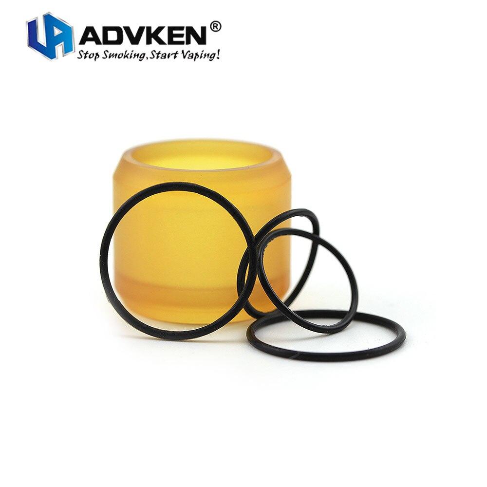 Originale Sostituzione Advken PEI Tubo Tubo 5 ml Capacità di Ricambio con O-Ring E-cig Vape Pezzo di Ricambio per Advken MANTA RTA Serbatoio