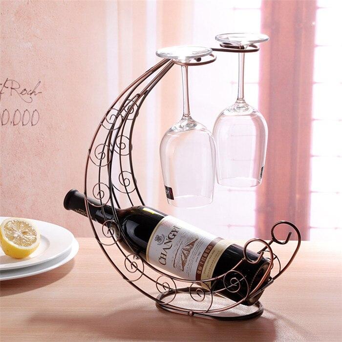 Online Buy Wholesale Decorative Metal Wine Racks From