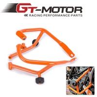 GT Motor Motorcycle Refit Tank Protection Bar Protection Guard Crash Bars Frame For KTM DUKE 390 DUKE390