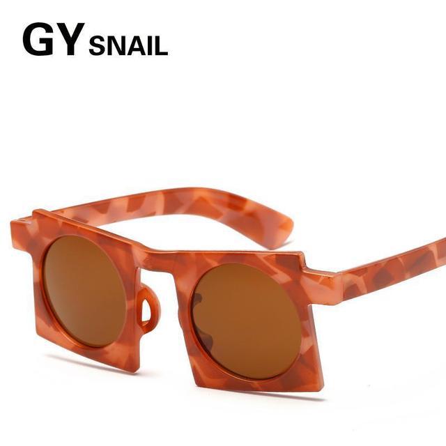 2f71f525bd0c GYSnail 2017 New Trendy Vintage Hip Hop Sun Glasses Hot Sale Fashion Women  Square Frame Round Lens Cool Sunglasses UV Protection