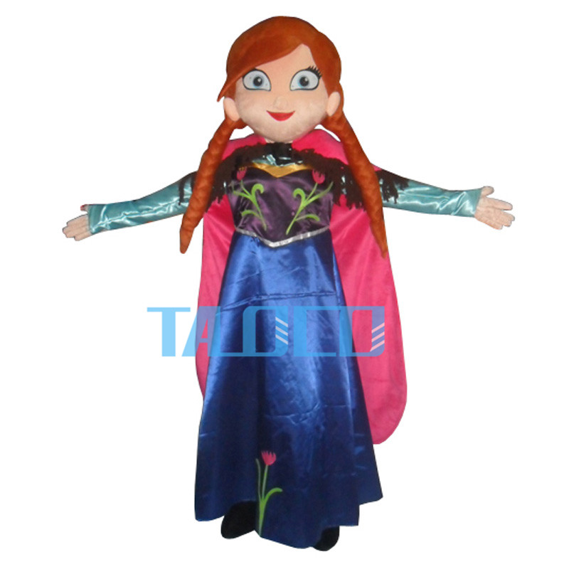 Princess Anna Of Party Mascot Costume Fancy Dress Free Shipping