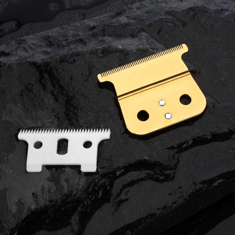 1/2/10/100 set para a escolha de substituição T-lâmina Delineador definido para ANDIS GTX/ GTO trimmer detalhe 32 teeh lâmina móvel cerâmica