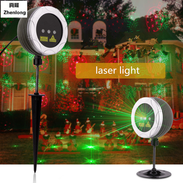 New Led Stage Light Red&Green Waterproof Christmas Halloween Laser Light Ktv Bar Wedding Festival Lights Outdoor Projector