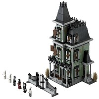 LEPIN 16007 Monster Warrior Fighters Haunted House Figure Blocks Compatible Legoe Construction Building Toys For Children