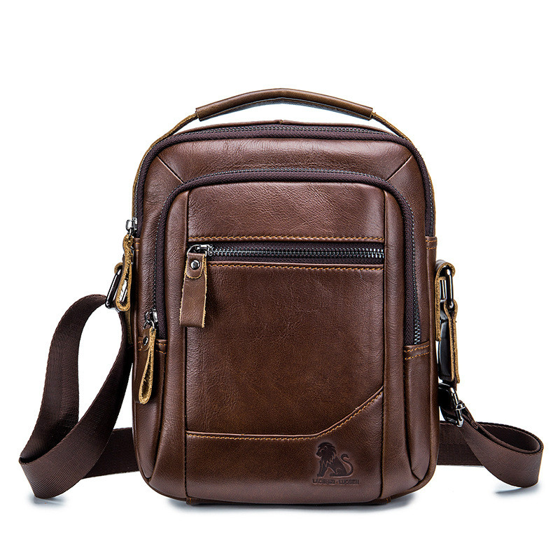 Genuine Leather 8 Casual Mens Crossbody Shoulder Bag Men Messenger Bag Male Top-handle Handbag Travel Pack For Ipad MiniGenuine Leather 8 Casual Mens Crossbody Shoulder Bag Men Messenger Bag Male Top-handle Handbag Travel Pack For Ipad Mini