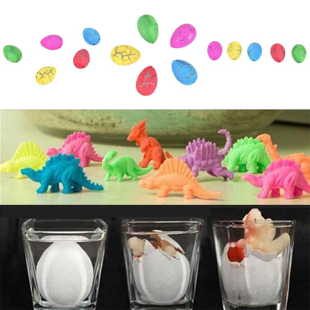Children Kids Cute Magic Water Growing Egg Hatching Colorful Dinosaur Add Crack Grow Egg Toy For Boy Creative gift 1PCS
