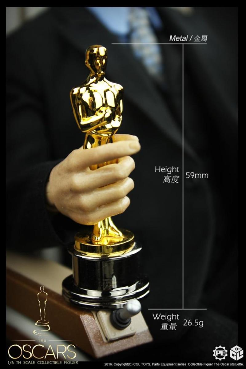 1:6 CGLTOYS PE02 Academy Award Statue Oscar Statuette Fit 12/'/' Figure Toy Gift