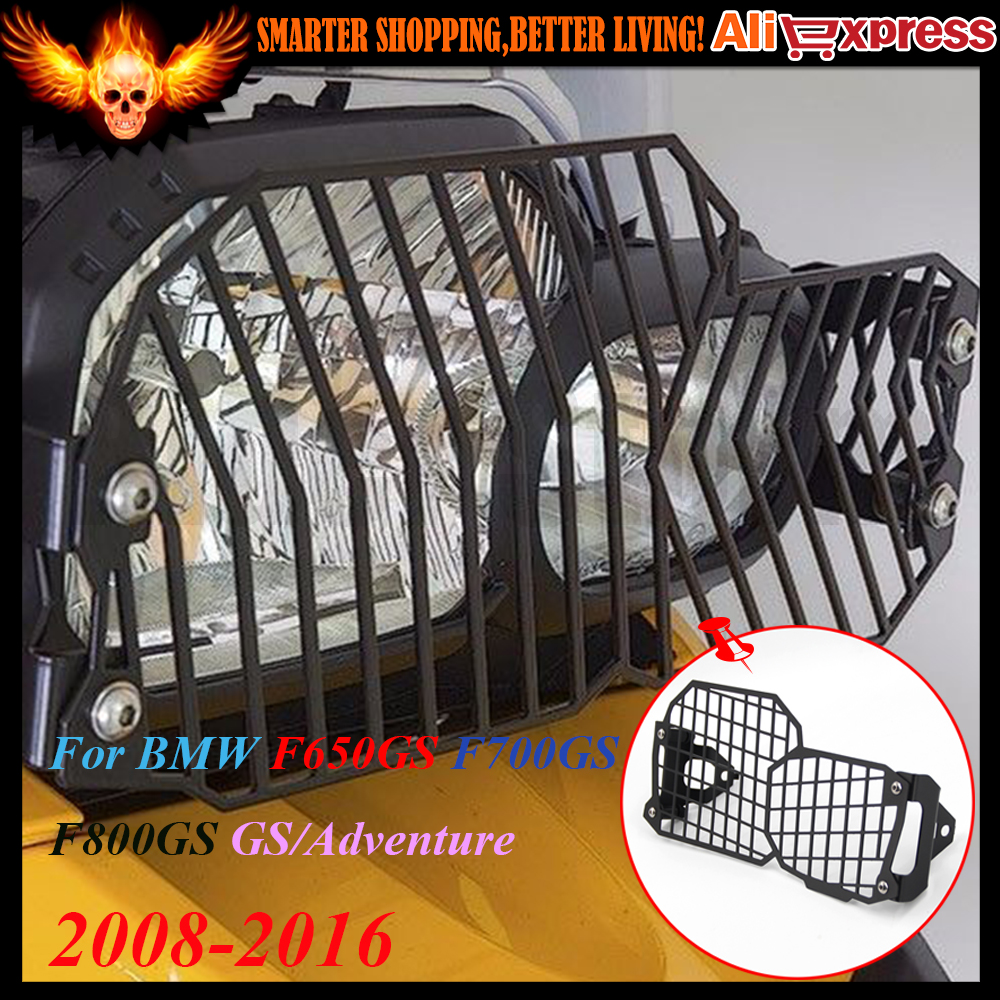Motorcycle Mesh Grill Headlight Guard Protector For BMW F650GS F700GS F800GS GS/Adventure 2008 2009 2010 2012 2013 2014 2015 16 motorcycle radiator protective cover grill guard grille protector for kawasaki z1000sx ninja 1000 2011 2012 2013 2014 2015 2016