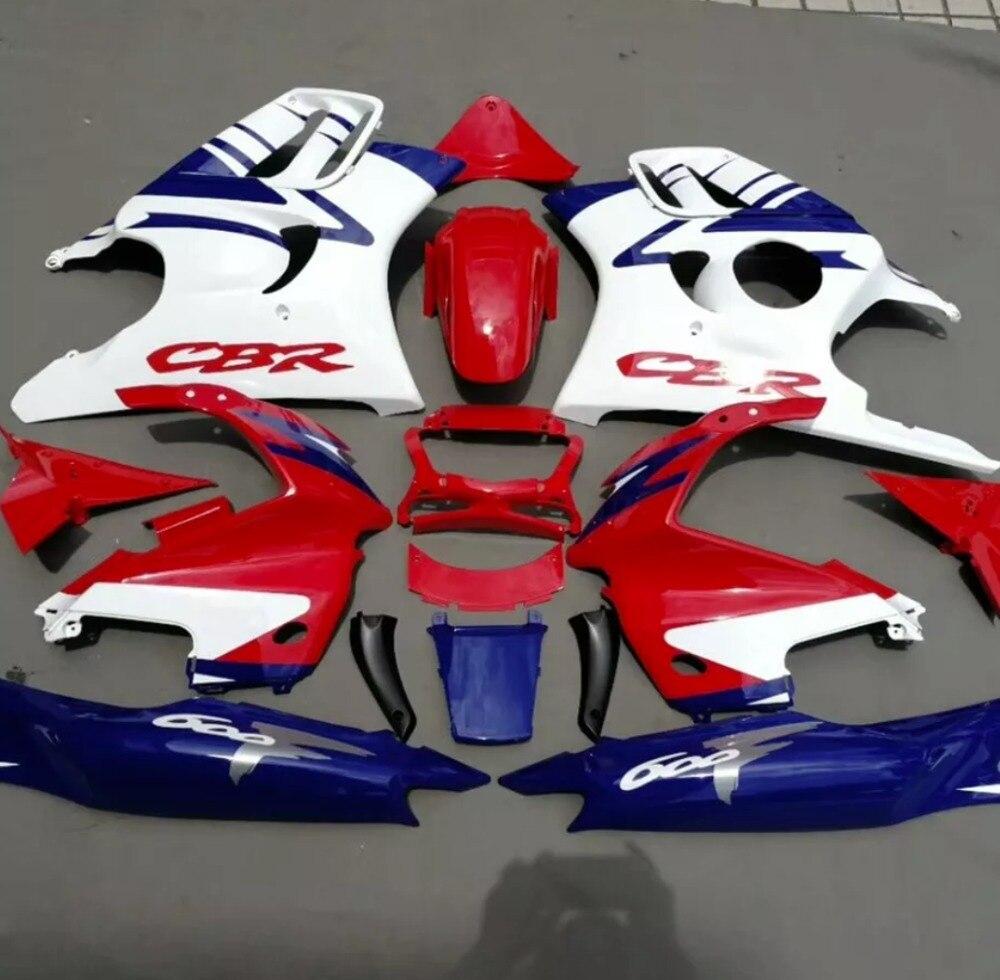 ABS fairing kits for Honda CBR 600 F3 97 98 CBR600F3 1997 1998 body kits include Tank cover