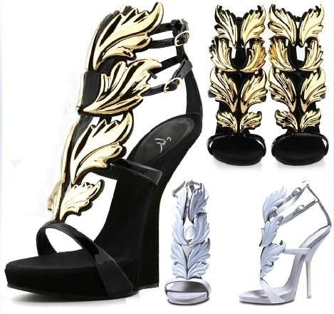 2013 Fashion Designer Platform Wedges Sandals Womens Brand Gz Shoes