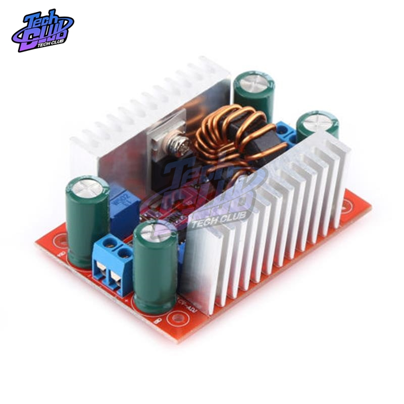 <font><b>DC</b></font> 400W <font><b>15A</b></font> <font><b>Step</b></font>-<font><b>Up</b></font> Boost Converter Constant Current Power Supply LED Driver 8.5-50V to 10-60V Voltage Charger <font><b>Step</b></font> <font><b>Up</b></font> Module image