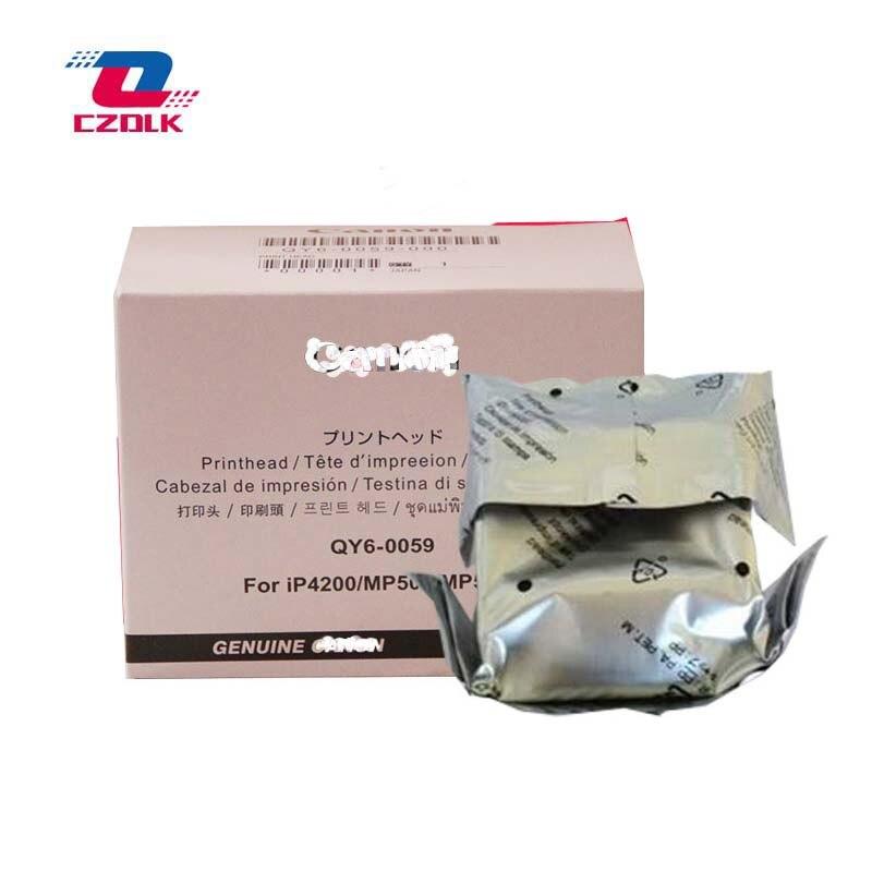 Original QY6-0059 printhead for Canon Pixma iP4200 MP500 MP530 iP 4200 MP 500 530 iP-4200 MP-500 print head brand print head qy6 0059 for canon mp500 mp530 ip4200 printhead
