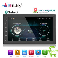 Hikity 2din Car Radio Android multimedia player Autoradio 2 Din 7'' Touch screen GPS Bluetooth FM WIFI auto audio player stereo