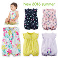 Лето 2017 топ продаж девочка одежда 0-24 М короткие комбинезоны для новорожденных одежда, 100% хлопок ползунки для новорожденных bebes menina roupas