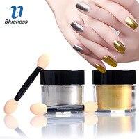 1g Box Charms Silver Gold Color DIY Manicure Nail Gel Polish Decorations Mirror Chrome Powder Pigment