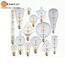 220 V-240 V E27 винтажный Ретро светодиодный светильник Эдисона 4W ST64/A19/G80 внутренний светодиодный светильник, Ночной светильник, рождественские подарки(BM50