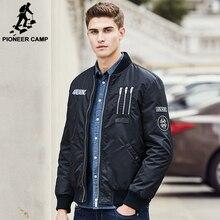 Pioneer Лагерь новое прибытие теплые мужчины пуховик бренд одежды толстый зимний пуховик мужской высокое качество ma1 стиль моды 611632