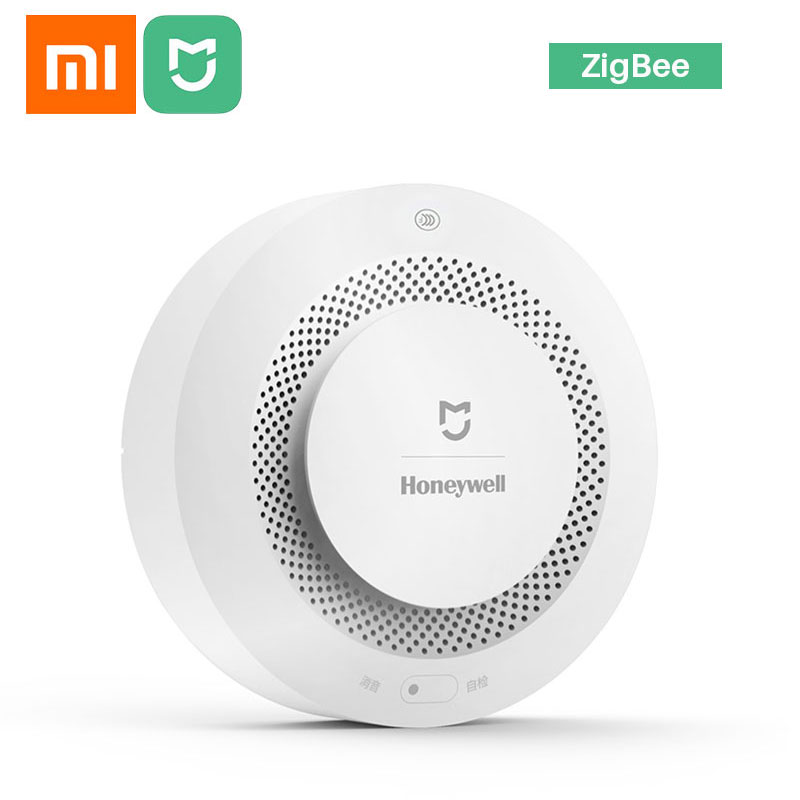 Xiaomi Mijia Honeywell Fire Alarm Smoke Sensor Gas Detector Work With Xiaomi Gateway 2 Smart Home Security Mi Home APP Control