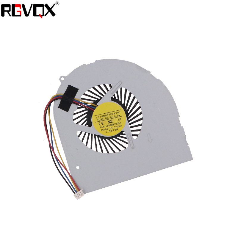 Купить с кэшбэком New Laptop Cooling Fan For LENOVO Y480 Y480A Y480M Y480N Y480P MG75150V1-C000-S99 MG60120V1-C160-S99 Replacement Cooler