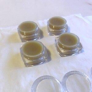 Image 5 - 50 sztuk pusty 5ml przezroczysty z tworzywa sztucznego naczynie na kosmetyki słoiki do paznokci dekoracje artystyczne brokatowy cień do powiek krem do twarzy pojemniki na balsam do ust