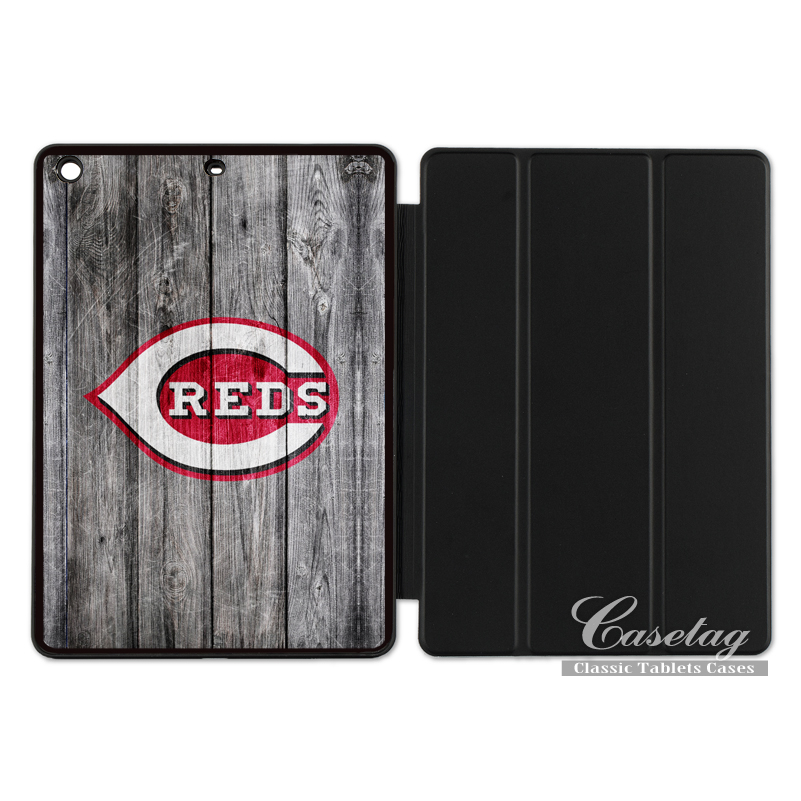 Cincinnati Reds Sport Baseball Cover Case For Apple iPad 2 3 4 Mini Air 1 Pro 9.7 10.5 12.9 New 2017 a1822