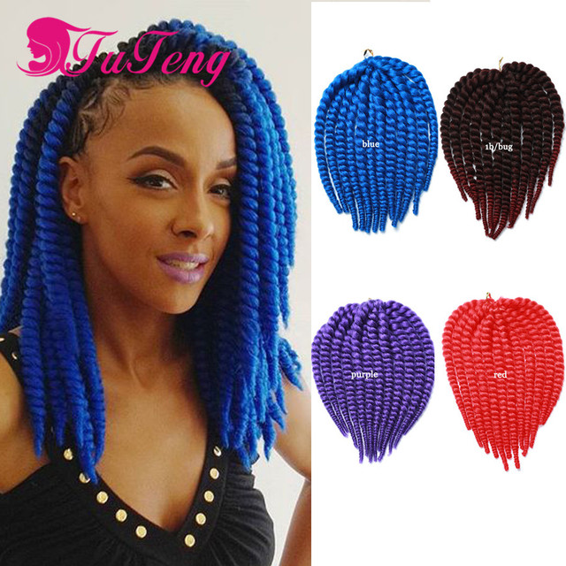 12 Inch Havana Mambo Twist Crochet Hair Extensions Crochet Braids