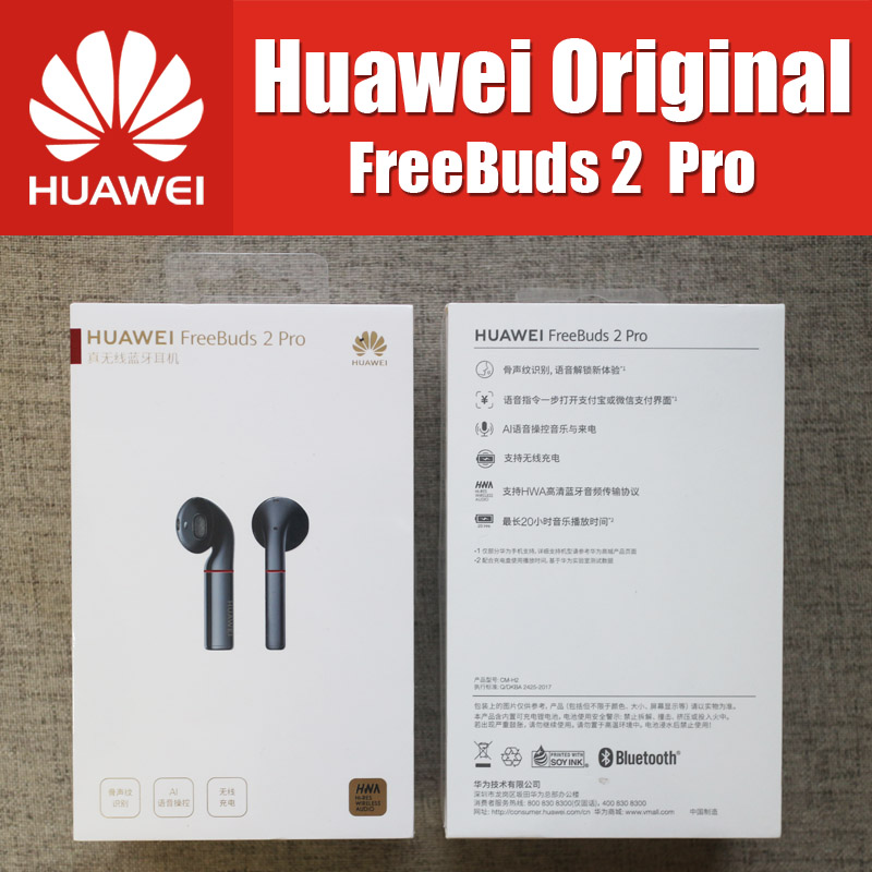CM H2 HUAWEI FreeBuds 2 Pro Bluetooth 5.0 Wireless Earphone with Mic Music Touch Waterproof Headset Handfree Dynamic
