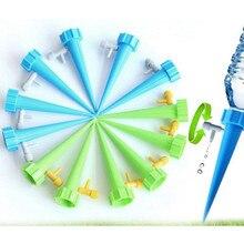 12 шт. автоматическая система капельного орошения, полива, автоматический полив, Спайк для растений, цветов, комнатных домашних водонагревателей, бутылка U3