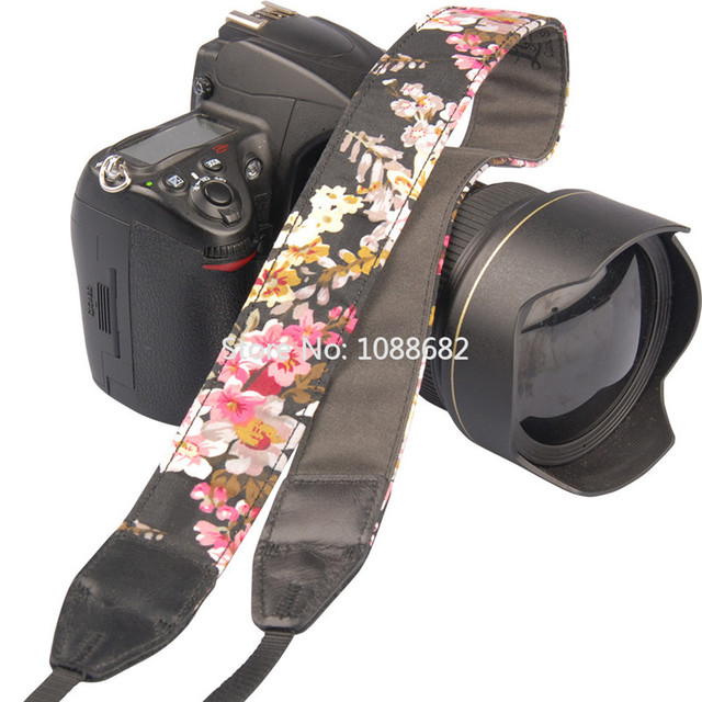 Chinese Flower Style Camera Strap